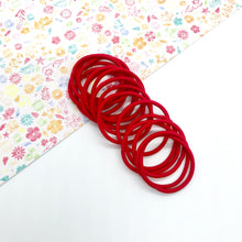 Load image into Gallery viewer, 3cm Red Elastic Bobbles - Crafty Bear Craft Supplies & Glitter Fabric