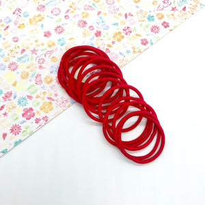 3cm Red Elastic Bobbles - Crafty Bear Craft Supplies & Glitter Fabric