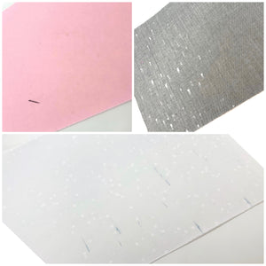*Defected Backs* x3 Sheets - Crafty Bear Craft Supplies & Glitter Fabric