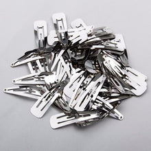 Load image into Gallery viewer, Clips - 50mm Silver Snap Clips x20 - Crafty Bear Craft Supplies & Glitter Fabric