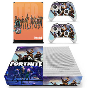 Game Fortnite Skin Sticker Decal For Microsoft Xbox One S Console