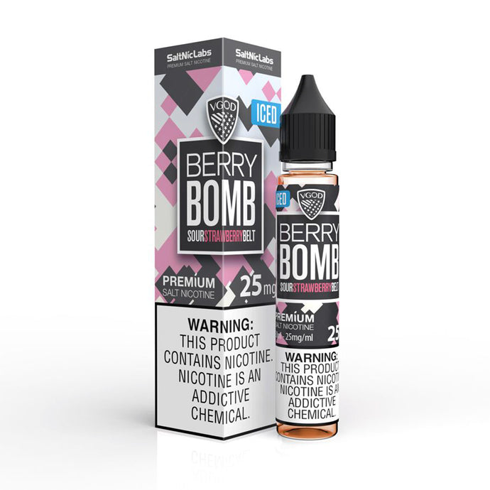 VGOD Iced Berry Bomb SaltNic