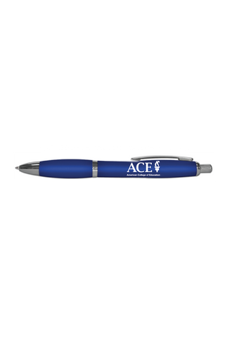 BLUE RETRACTABLE PEN