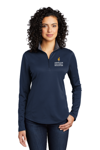 Ladies Silk Touch Performance 1/4-Zip