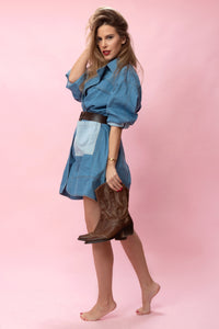 ERIKA dress denim