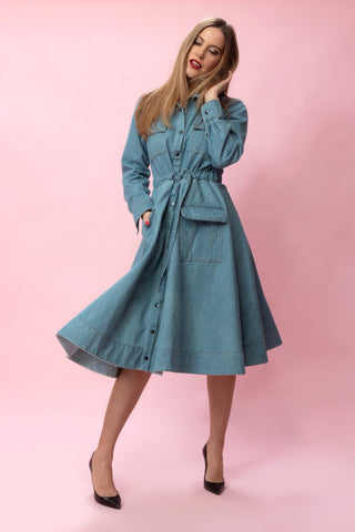 TESSA Dress denim
