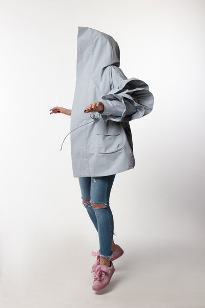 Parka Sweety Light Blue