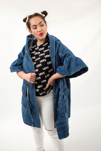 Parka Bluebell Denim