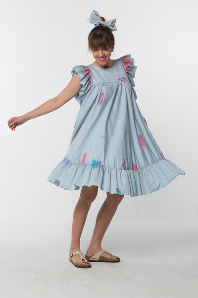 Lilly Dress Light Blue