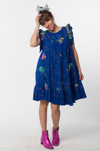 Lilly Dress Royal Blue