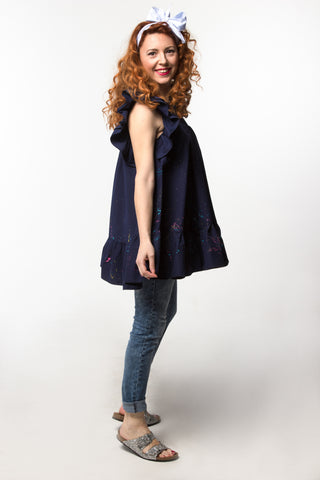 Lilly Tunic Dark Blue
