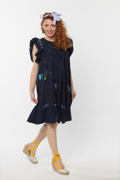 Lilly Dress Dark Blue