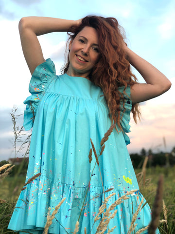 Lilly Tunic Turquoise