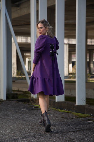 ELLA DRESS purple