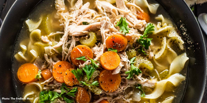 Tasty Turkey Noodle Soup