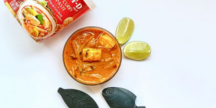 Iron-Rich Thai Red Curry