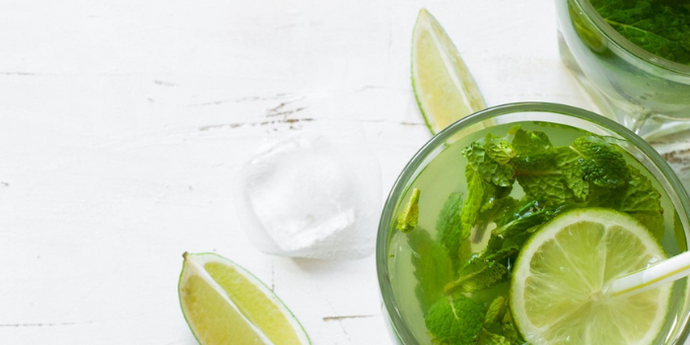 Refreshing and Iron-Enriched Mint-Limeade