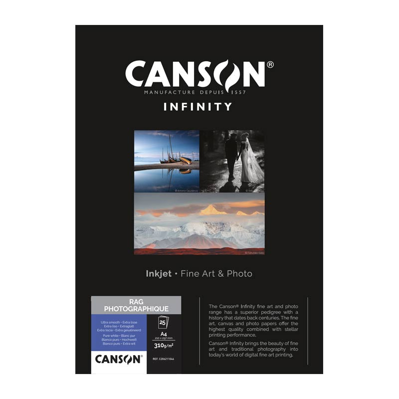 Canson Infinity Rag Photographique Roll Paper 310gsm