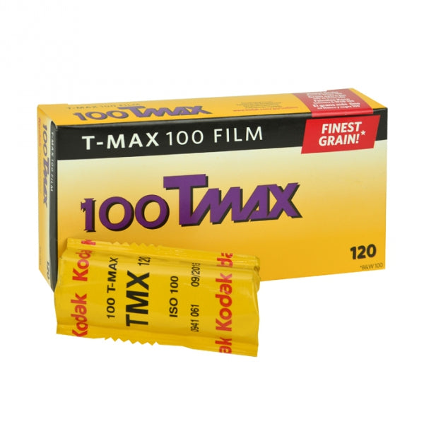 Kodak T-Max 100 Black & White Negative 120mm Film, 5-Pack