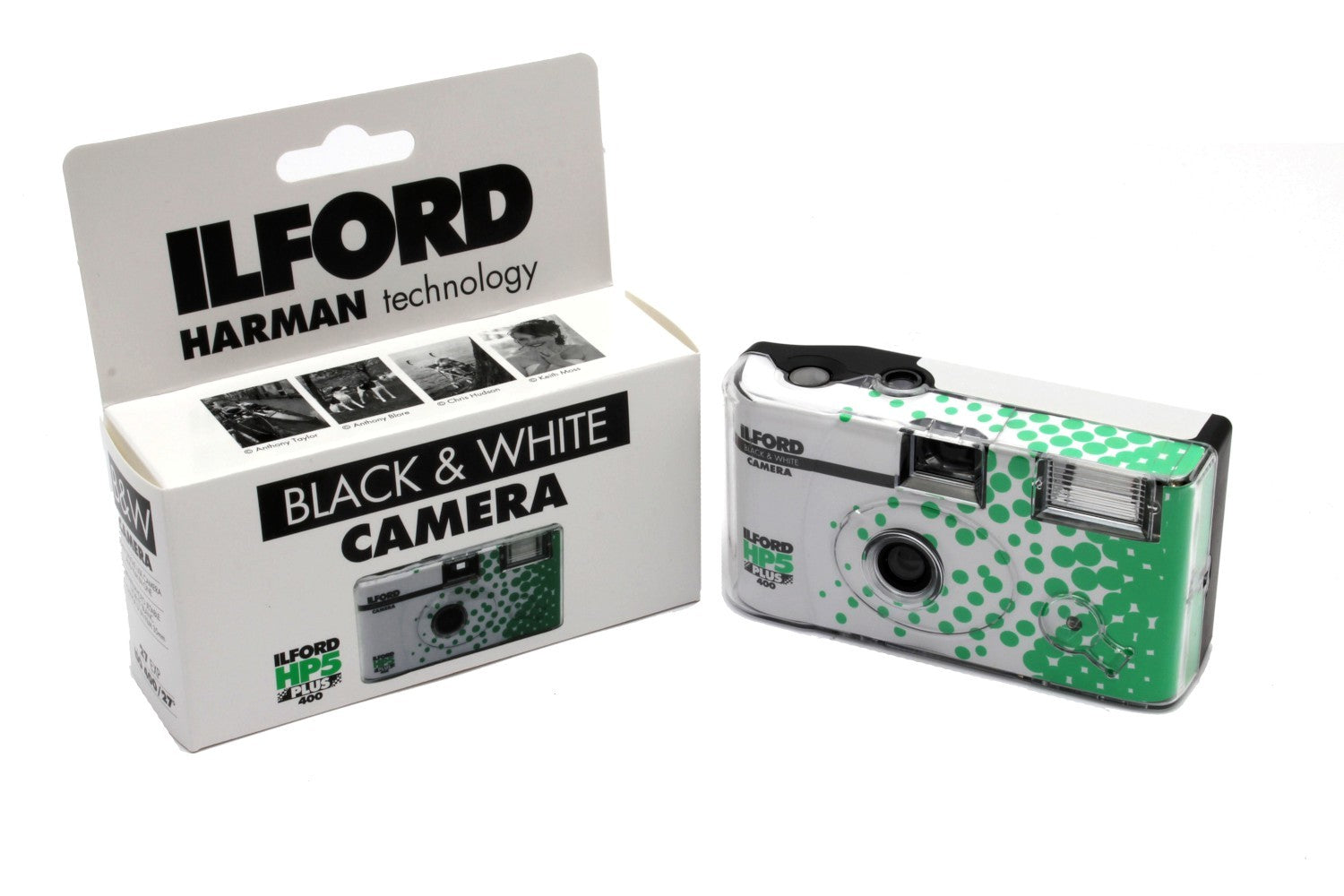 Ilford HP5 Plus Single Use Camera with Flash, 27 Exposures