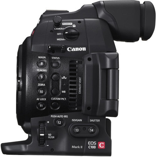 Canon EOS C100 Mark II Cinema Camera - Body Only