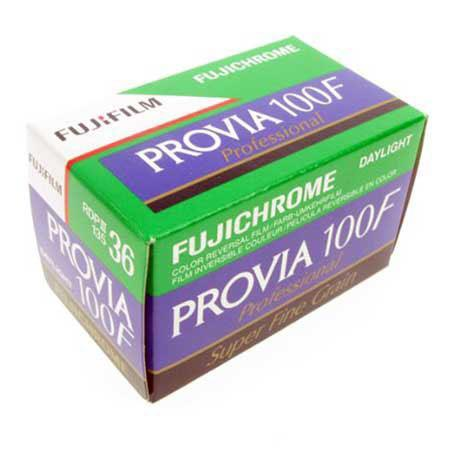 Provia 100F Color Slide Film ISO 100, 35mm, 36 Exposures