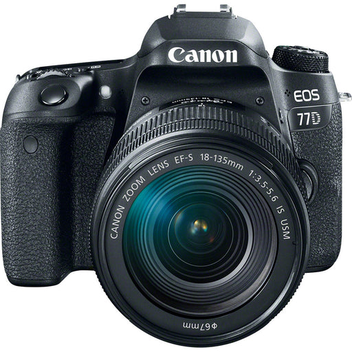 Canon EOS 77D with 18-135mm IS USM Lens Kit
