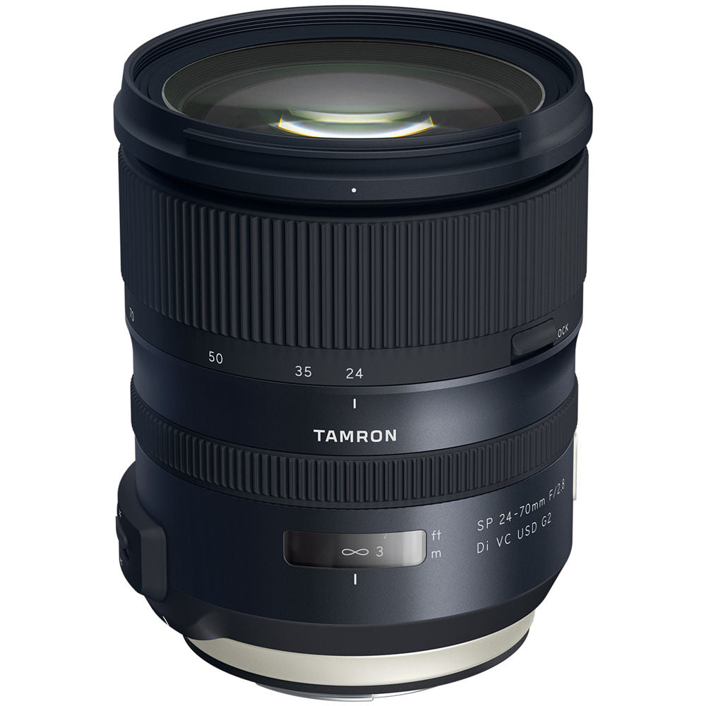 Tamron SP 24-70mm f/2.8 Di VC USD G2 - Canon EF Mount Lens