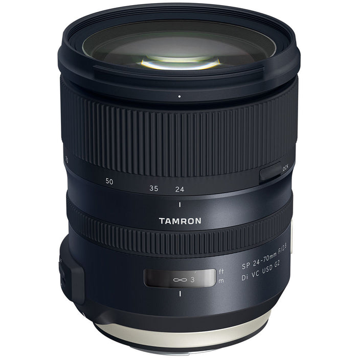 Tamron SP 24-70mm f/2.8 Di VC USD G2 - Nikon F Mount Lens