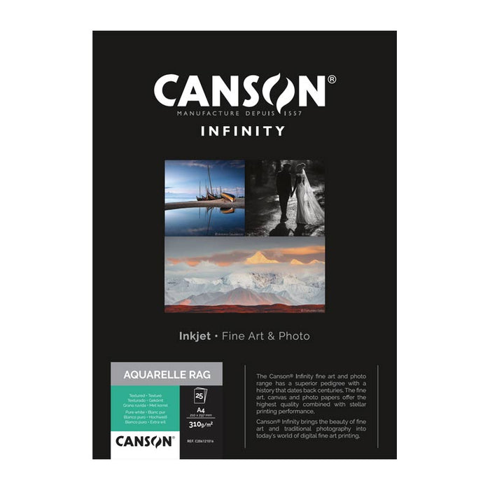 Canson Infinity Aquarelle Roll Paper 310gsm