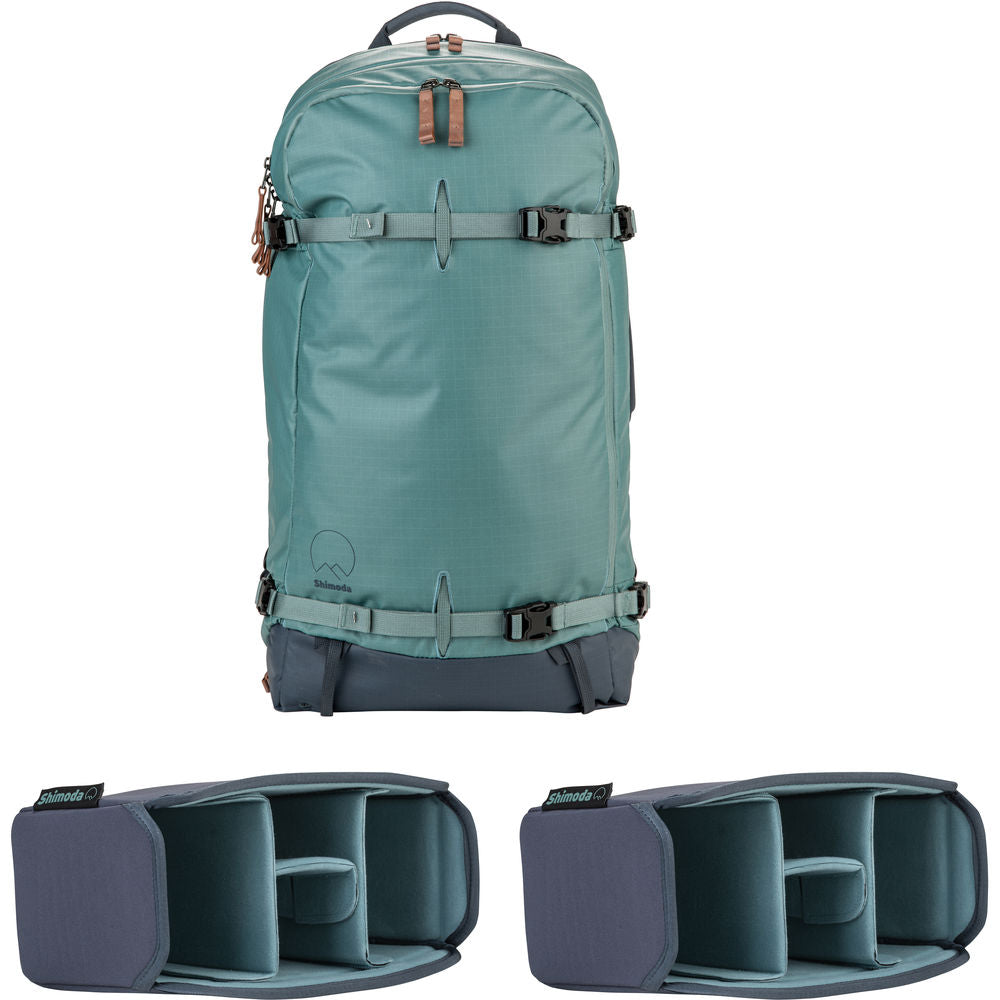 Shimoda Designs Explore 40 Backpack Starter Kit - Sea Pine