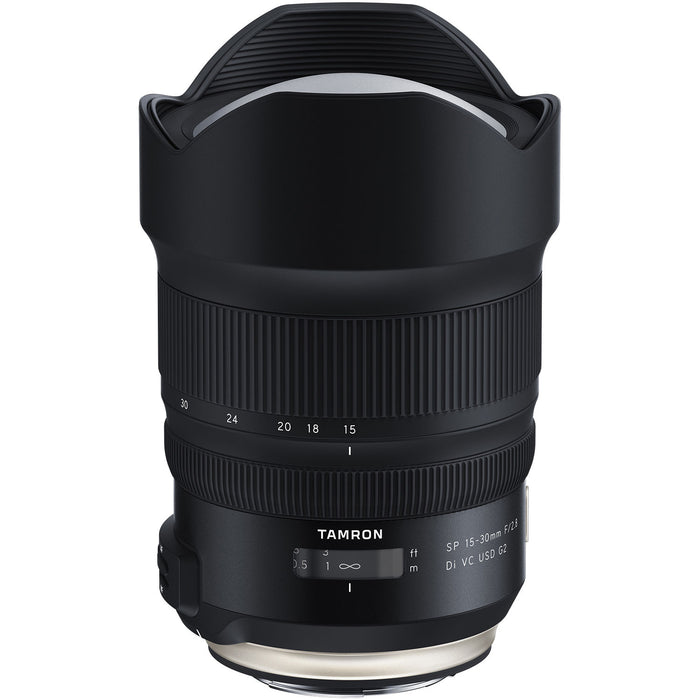 Tamron SP 15-30mm f/2.8 Di VC USD G2 - Canon EF Mount Lens