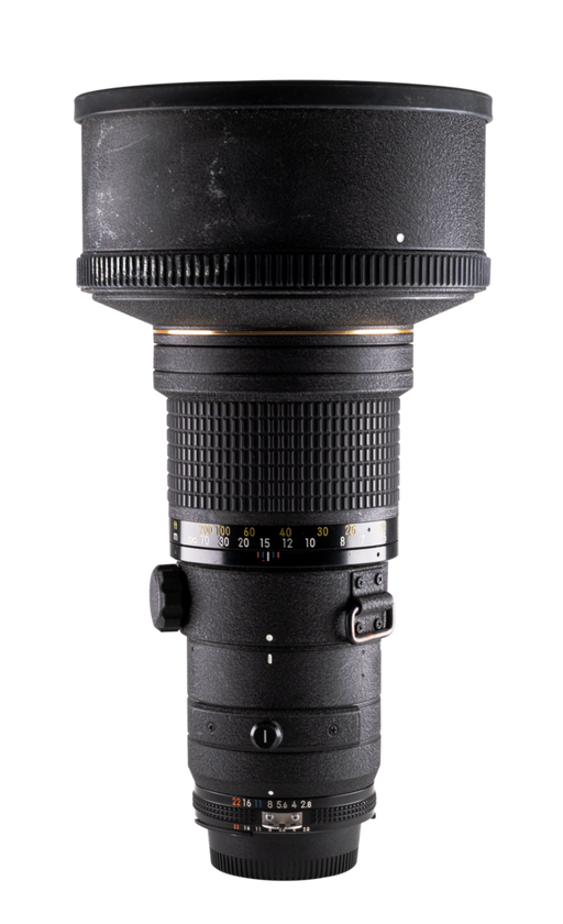 NIkon Manual-focus 300mm f/2.8 AiS Lens