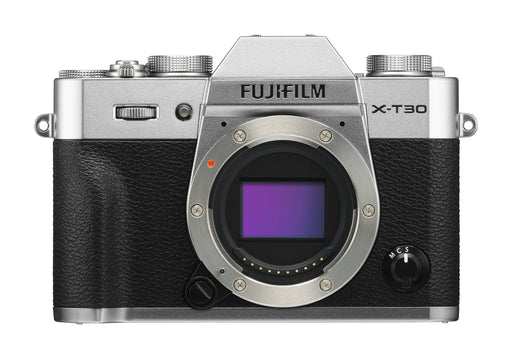 Fujifilm X-T30 Mirrorless Digital Camera - Body Only, Silver