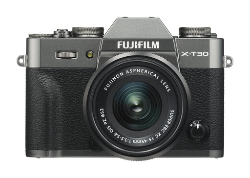 Fujifilm X-T30 Mirrorless Digital Camera with 15-45mm Lens Kit - Charcoal Silver