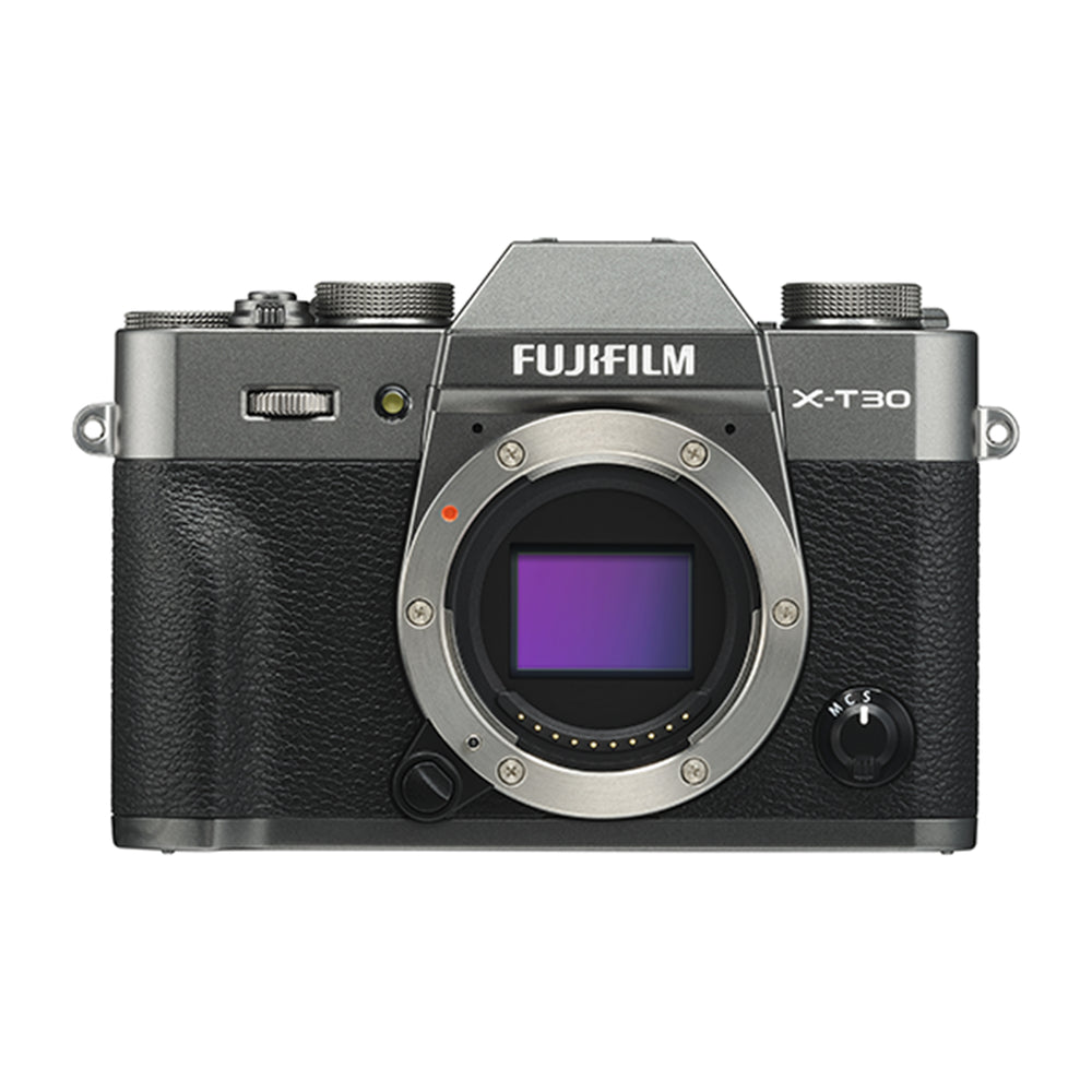 Fujifilm X-T30 Mirrorless Digital Camera - Body Only, Charcoal Silver