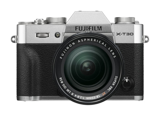 Fujifilm X-T30 Mirrorless Camera (Silver) with 18-55mm Lens Kit