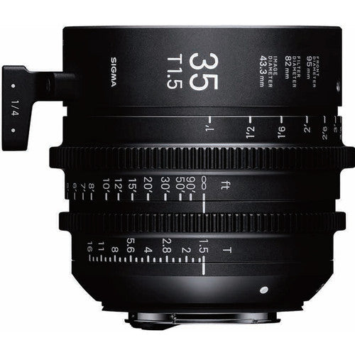 Sigma 35mm T1.5 FF High-Speed Prime - EF Mount Lens