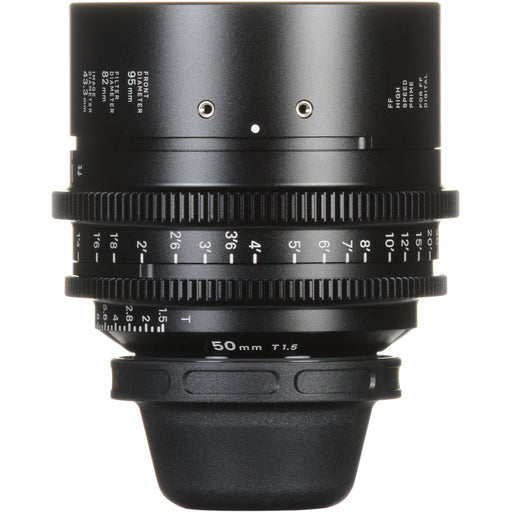 Sigma 50mm T1.5 FF High-Speed Prime - EF Mount (feet) Lens
