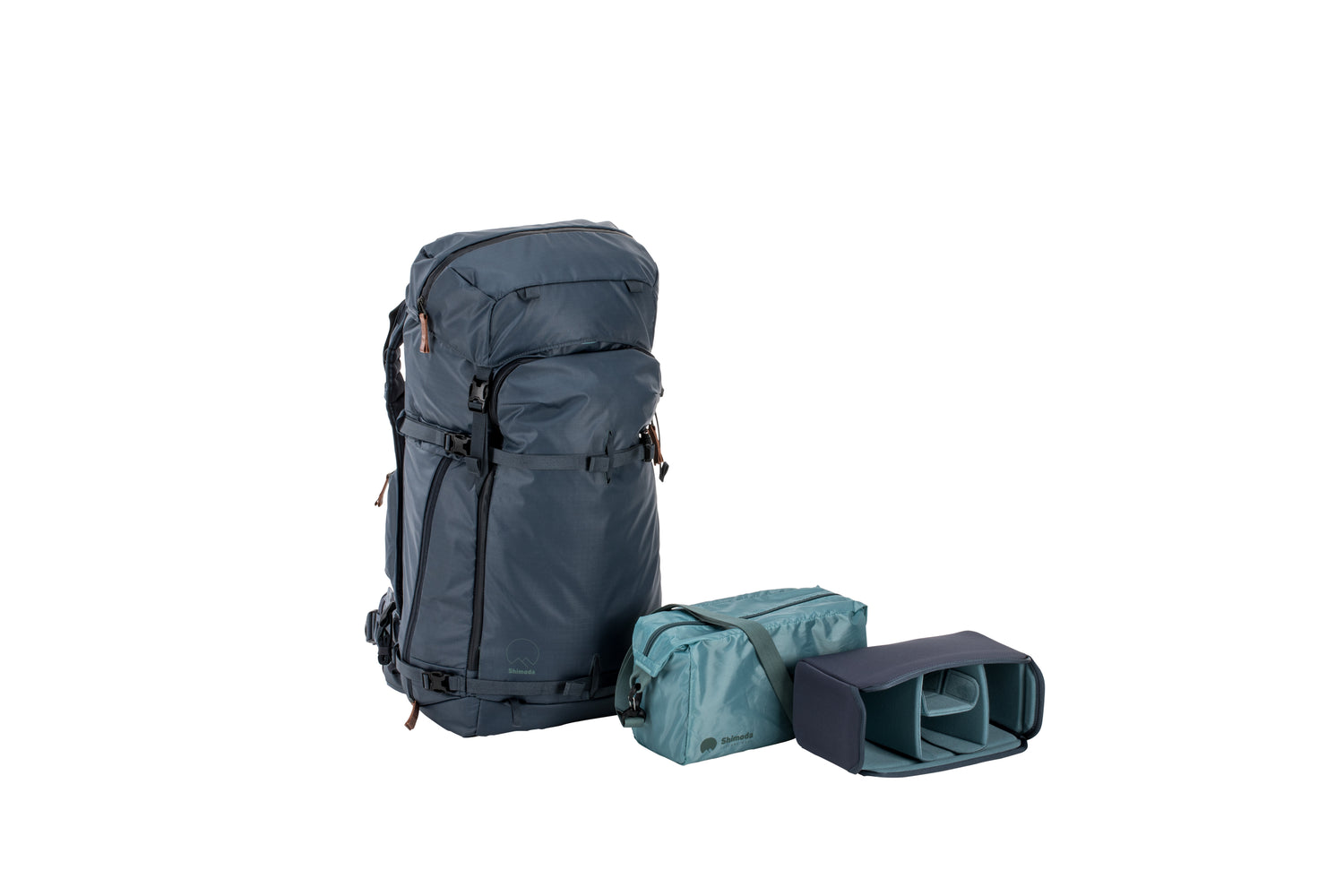 Shimoda Designs Explore 60 Backpack Starter Kit - Blue Nights
