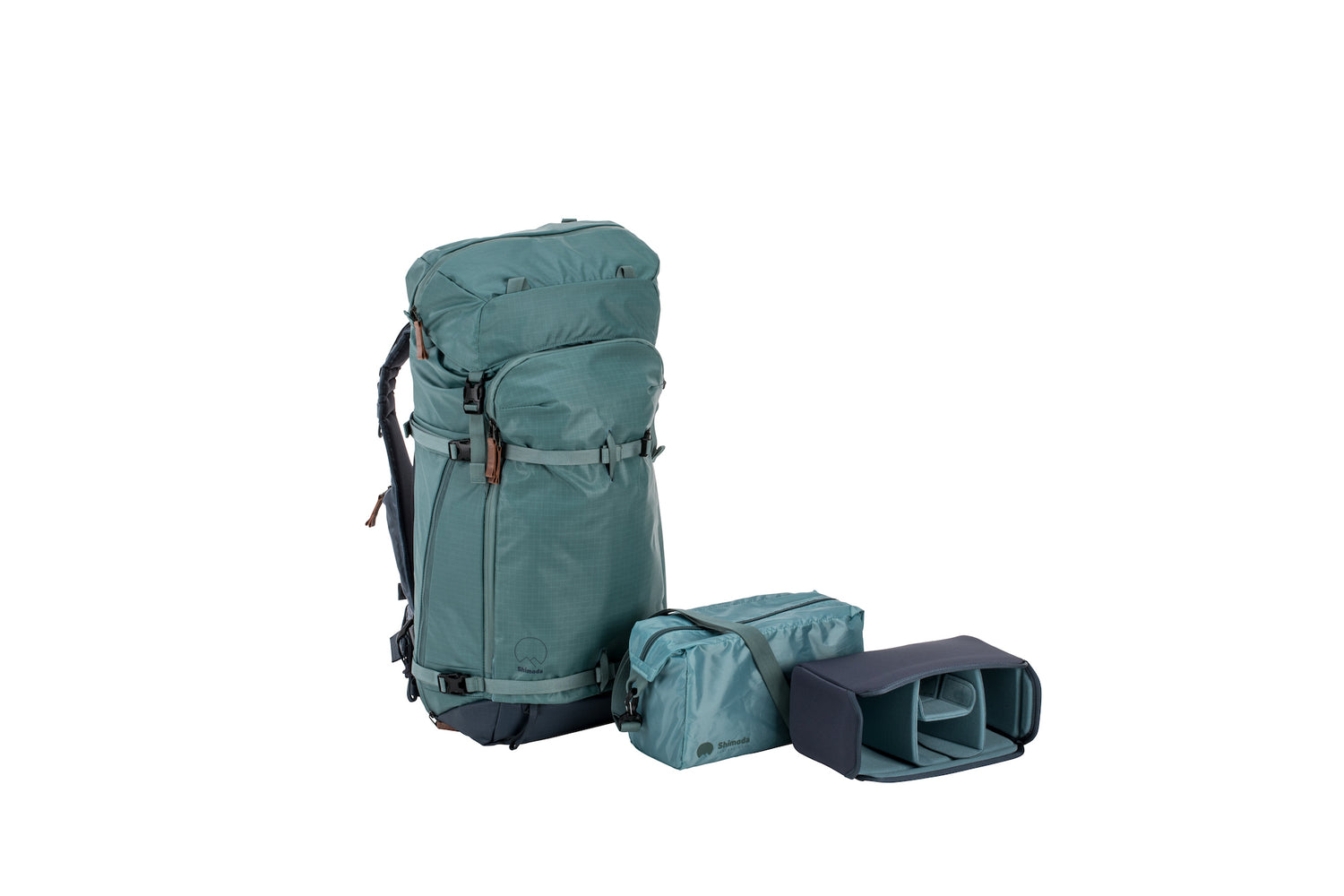 Shimoda Designs Explore 60 Backpack Starter Kit - Sea Pine