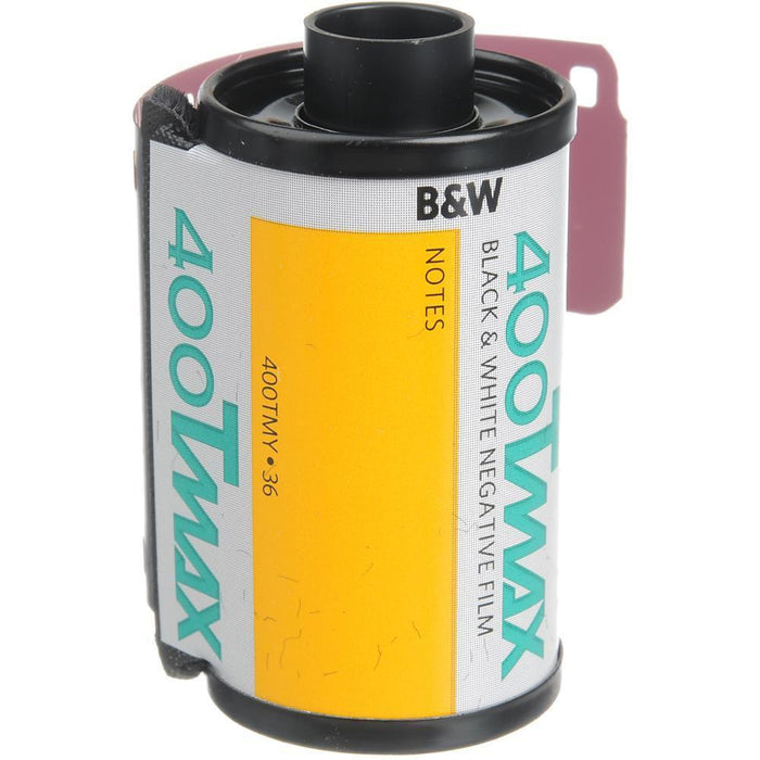 Professional T-Max 400 Black and White Negative Film 35mm Roll Film, 36 Exposures