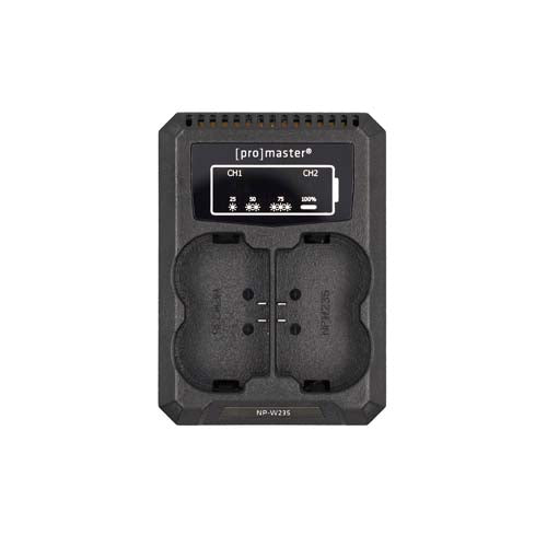 ProMaster Dually Charger for the Fuji NP-W235 Battery