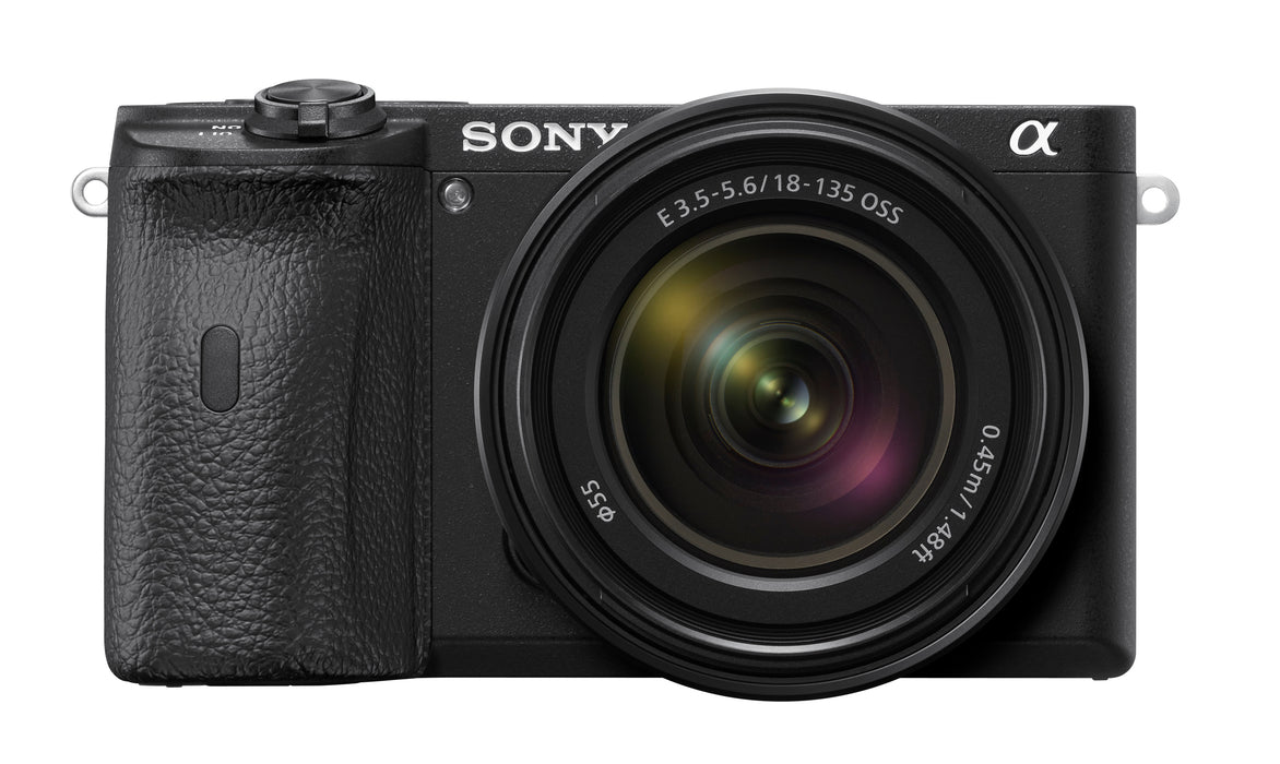 Sony Alpha a6600 Mirrorless Camera with 18-135mm Lens Kit