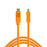 Tether Tools TetherPro USB Type-C Male to 8-Pin Mini-USB 2.0 Type-B Male Cable - 15 ft, Orange