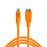 Tether Tools TetherPro USB Type-C Male to Micro-USB 3.0 Type-B Male Cable - 15 ft, Orange