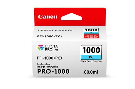 Canon PFI-1000 LUCIA PRO  Photo Cyan 80ml