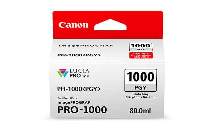 Canon PFI-1000 LUCIA PRO  Photo Gray 80ml
