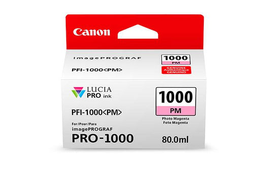 Canon PFI-1000 LUCIA PRO  Photo Magenta 80ml