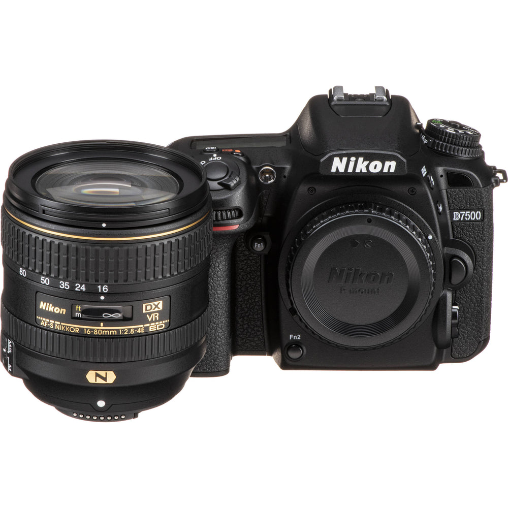 Nikon D7500 with 16-80mm VR Lens